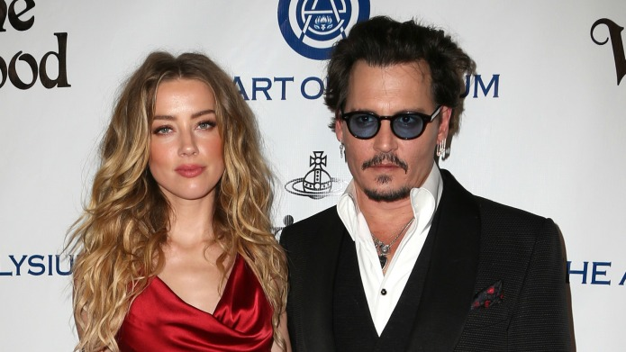 Johnny Depp and Amber Heard's surprise