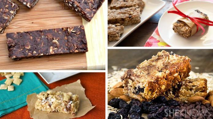 Back-to-school snacks: Healthier homemade granola bar
