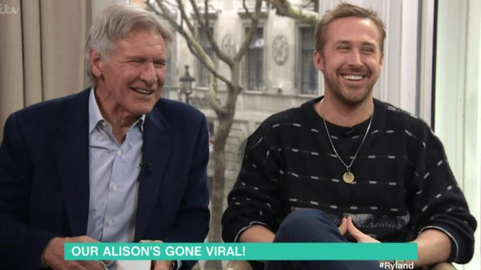 Witness Harrison Ford & Ryan Gosling's