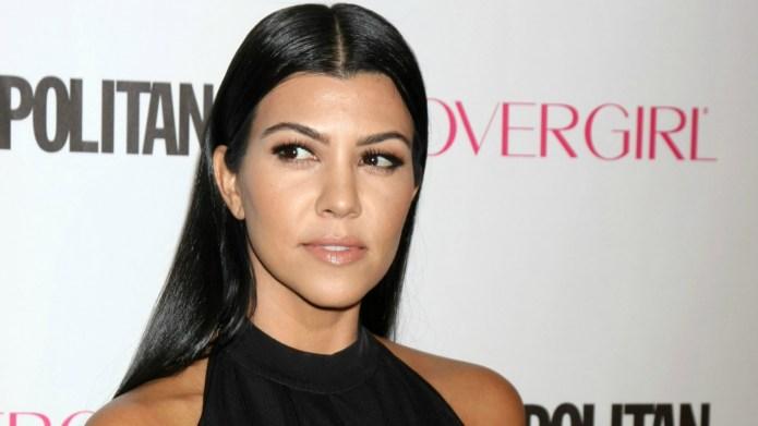 Kourtney Kardashian makes a stunning and