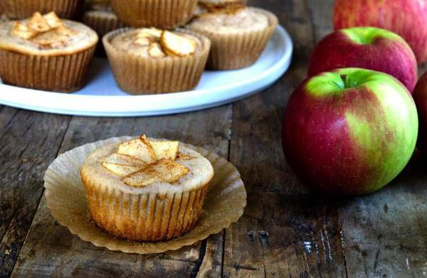 Gluten-free apple cider muffins