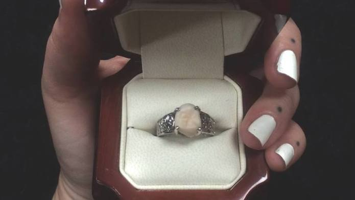 Bride-to-be gets her dream ring made