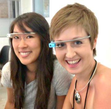Motherhood through Google Glass