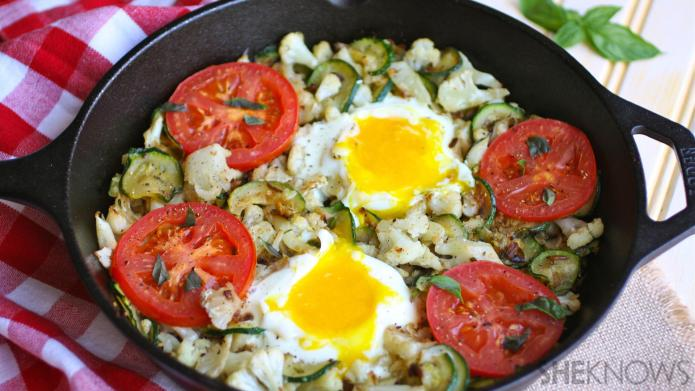 Meatless Monday: Skillet cauliflower and zucchini