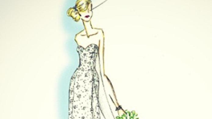 Disney confirms a Frozen wedding dress