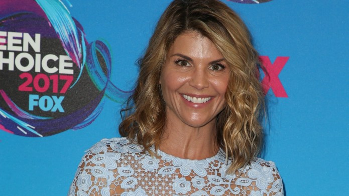 Lori Loughlin, Real-Life Superhero, Flaunts Rock-Hard