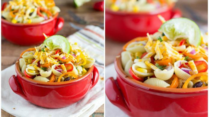 One-pot pasta salad chock full of