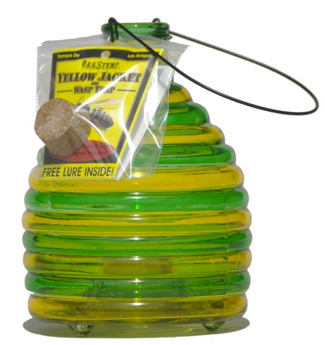 Non Toxic Glass Wasp Trap from Eartheasy