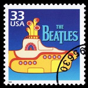 Yellow Submarine Stamp