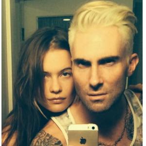 Adam Levine's hair: Hot guys who