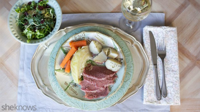 This Slow Cooker Corned Beef Dinner