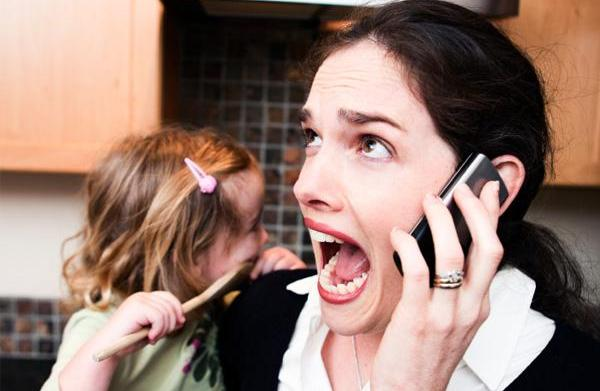 Stressed out mom? Try changing your
