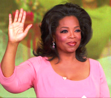Oprah's final show gets roasted by