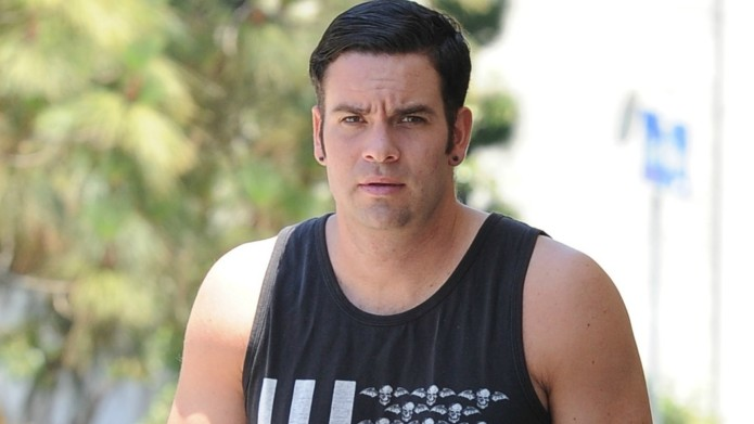 Glee's Mark Salling is finally facing