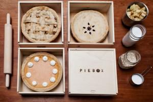 Vegan holiday gift: Wooden Pie Box