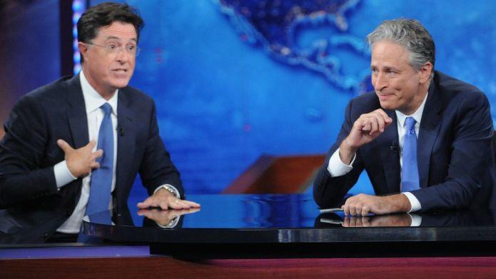 Jon Stewart & Stephen Colbert's last
