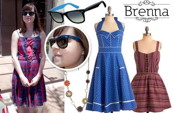 Vintage-inspired summer fashion