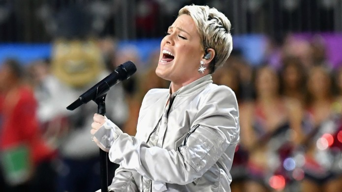 Pink Claps Back at a Twitter