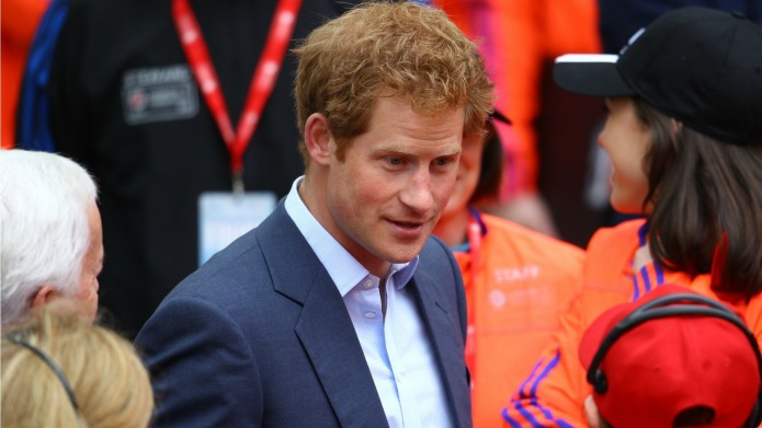 Prince Harry allegedly got shot down