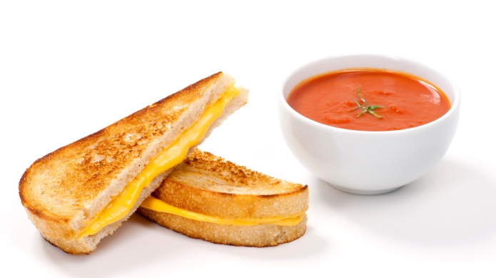 Grilled Cheese Sandwich on Sourdough Bread