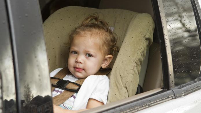 Baby In A Car Seat