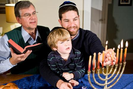 Share the spirit of Hanukkah