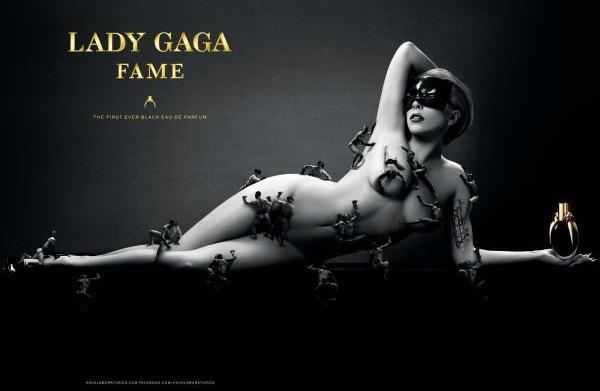 Lady Gaga's got tiny men on