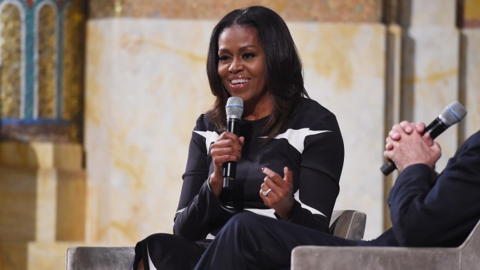 Michelle Obama Shaded President Trump Without