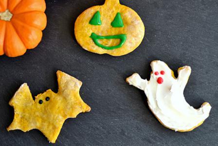 Pumpkin & peanut butter Halloween dog