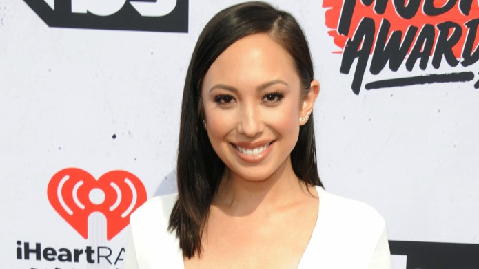 Cheryl Burke has reason to be