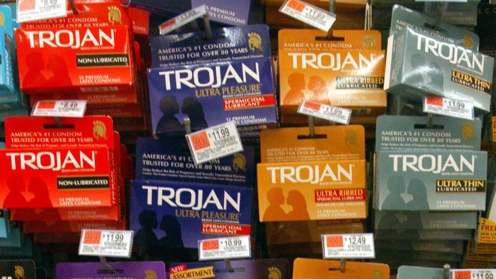 Mom debate: Is a condom costume