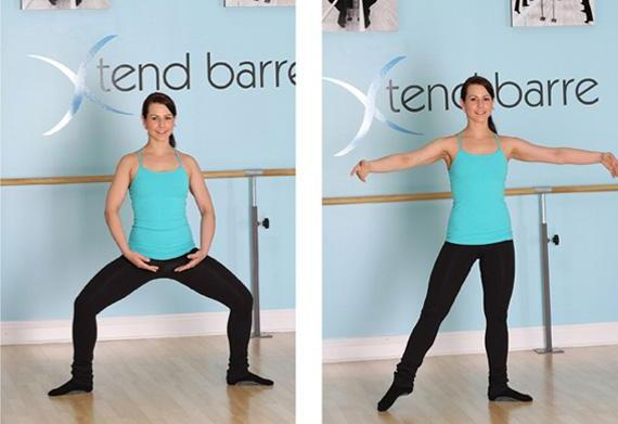 Barre workout: Get lean and chiseled