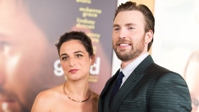 Chris Evans & Jenny Slate Celebrated