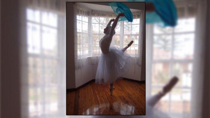 Ballet dancer shares her hopes of