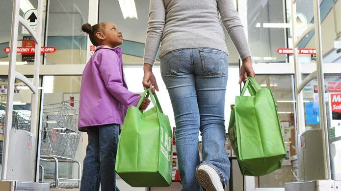 Use shopping trips to teach your
