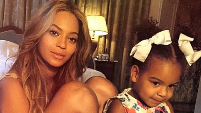 Blue Ivy makes music video and