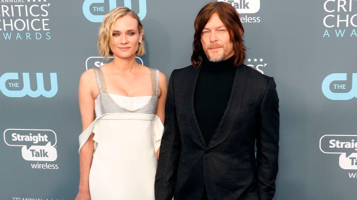 Diane Kruger & Norman Reedus Are