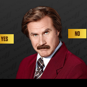 Ron Burgundy wants you to buy