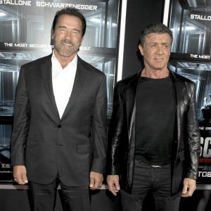 Stallone & Schwarzenegger: Major rivals in