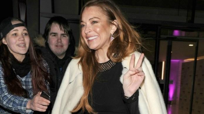 Lindsay Lohan called everyone on Instagram