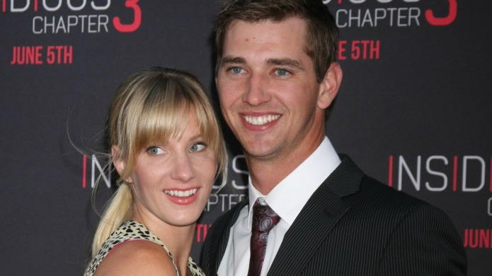 Glee's Heather Morris welcomes baby with