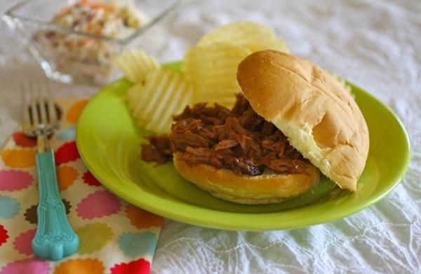 Sunday dinner: Barbecue pulled pork sandwiches