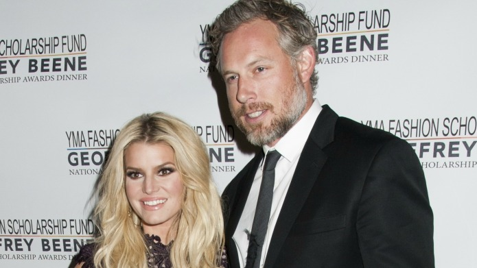 Jessica Simpson and hubby Eric Johnson
