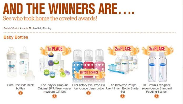 SheKnows Parenting Awards: Baby Feeding winners!