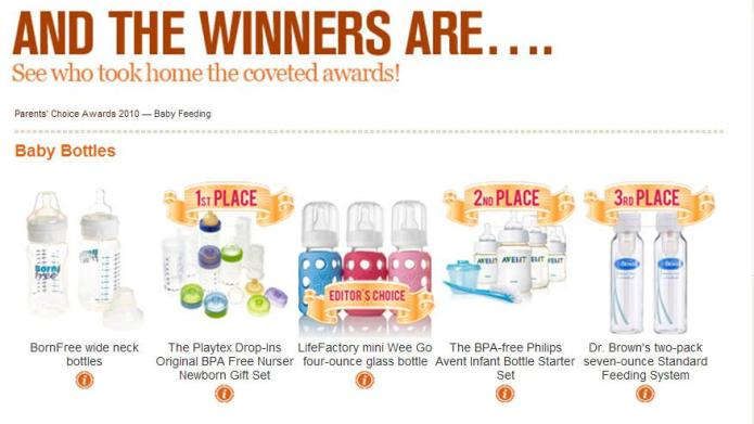 SheKnows Parenting Awards: Baby Feeding winners!