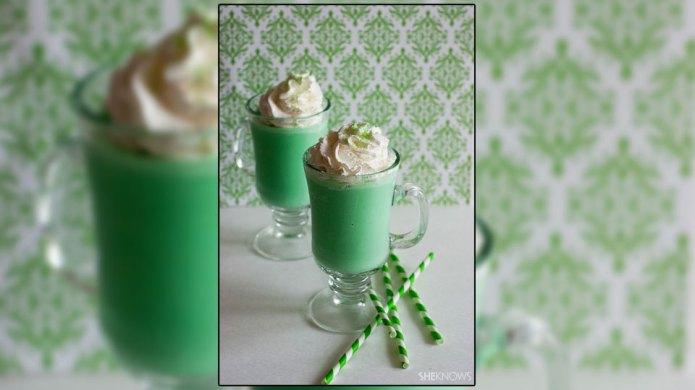 Vegan shamrock shake lets the dairy-free