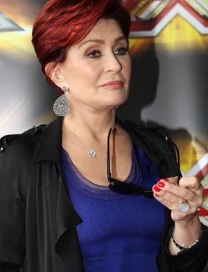 Sharon Osbourne makes nice with the