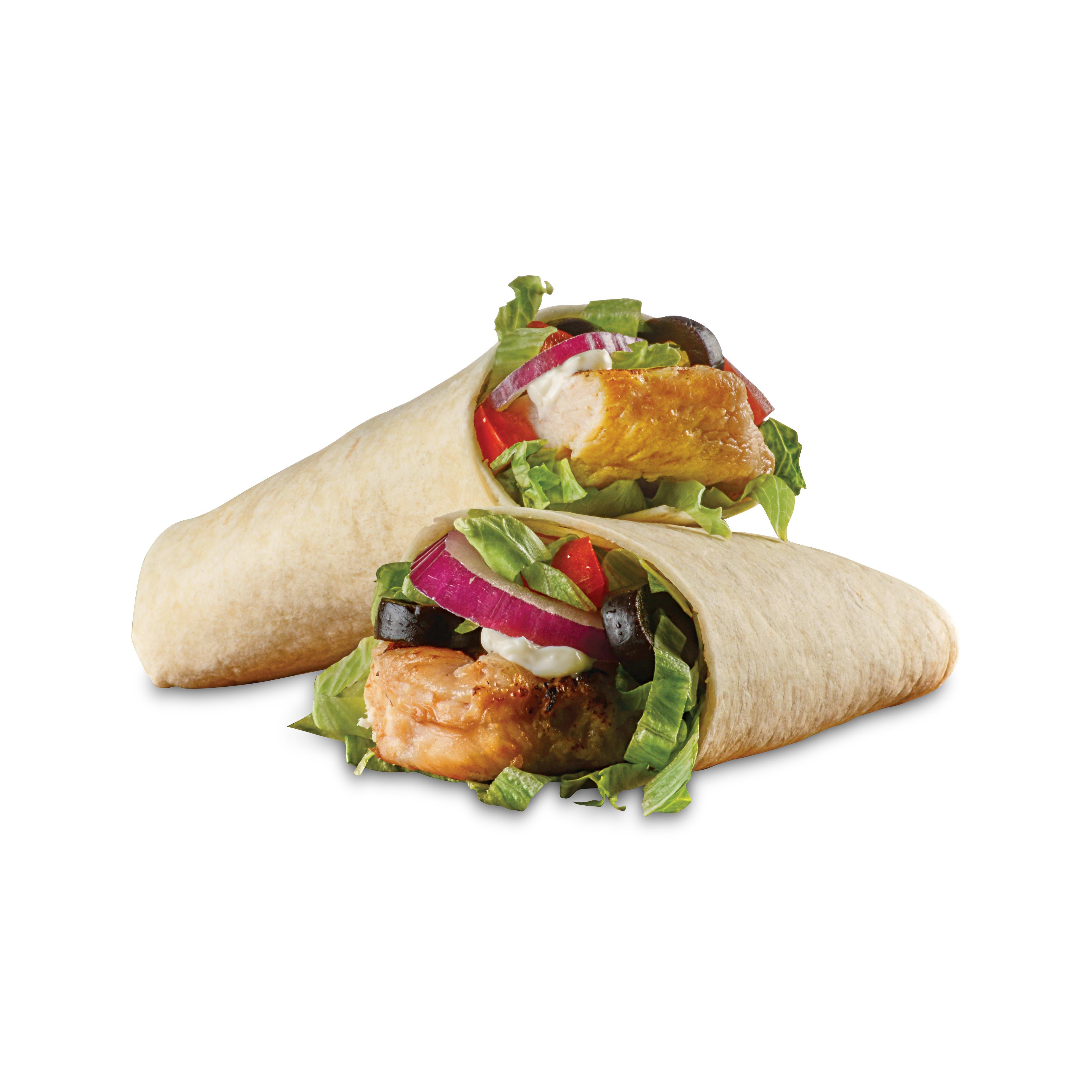 Grilled Chicken Shnack Wraps