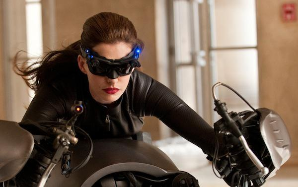 Anne Hathaway is Catwoman in The