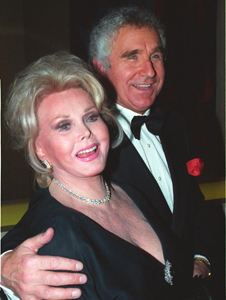 Zsa Zsa Gabor and Prince Frederic